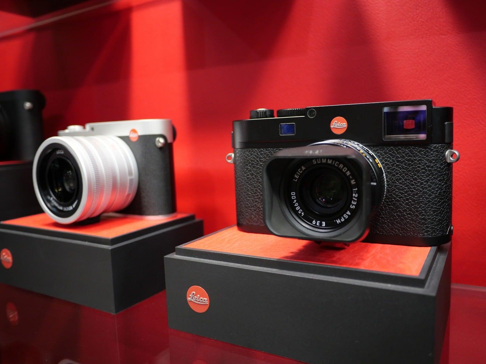 Leica cameras