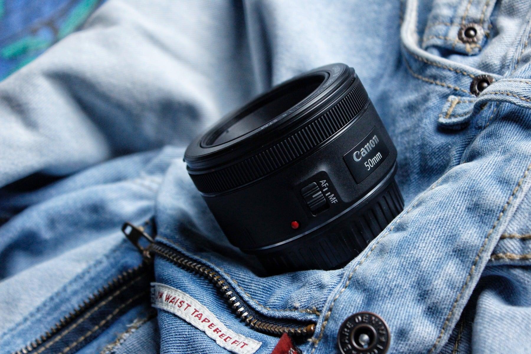 Canon 50mm f/1.8 prime lens
