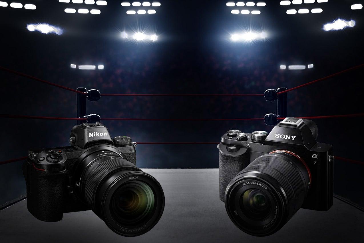 Nikon vs. Sony cameras