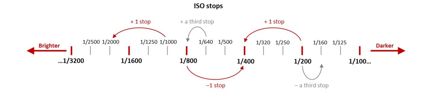 ISO stops