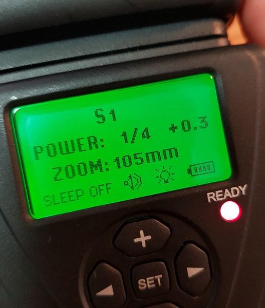 Flash power settings