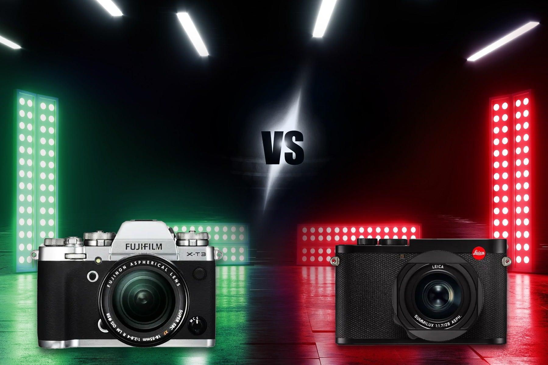 Fujifilm vs. Leica
