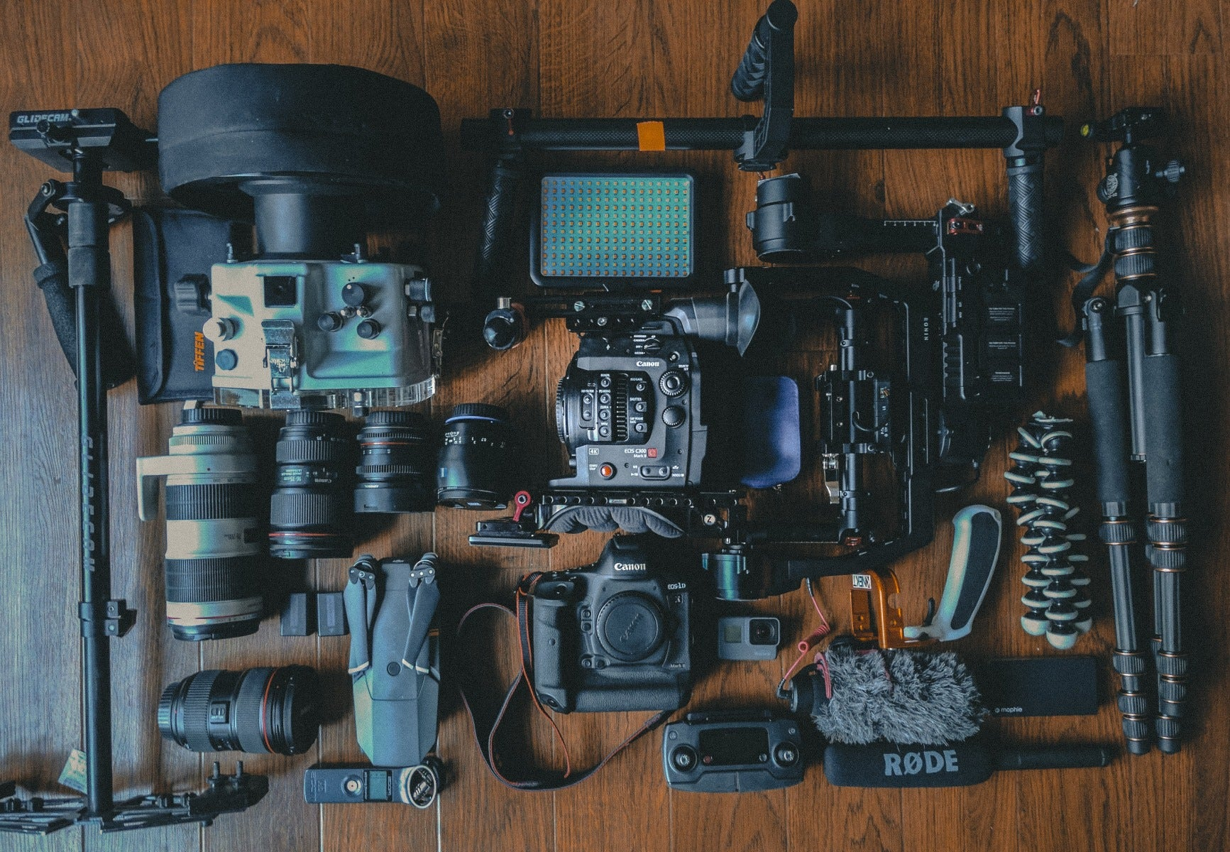 Too much camera gear for a trip!