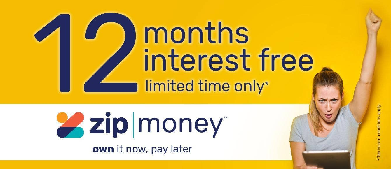 12 Months Interest FREE - ZipMoney