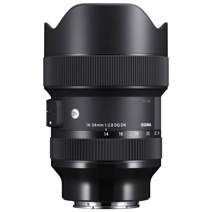 Sigma AF 14-24mm f/2.8 DG DN (A) F/L-Mount optimized for full-frame mirrorless cameras, astonishing resolution for astrophotography.