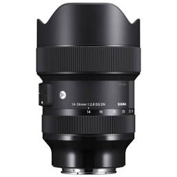 Sigma AF 14-24mm f/2.8 DG DN (A) F/Sony-E Mount optimized for full-frame mirrorless cameras, astonishing resolution for astrophotography.