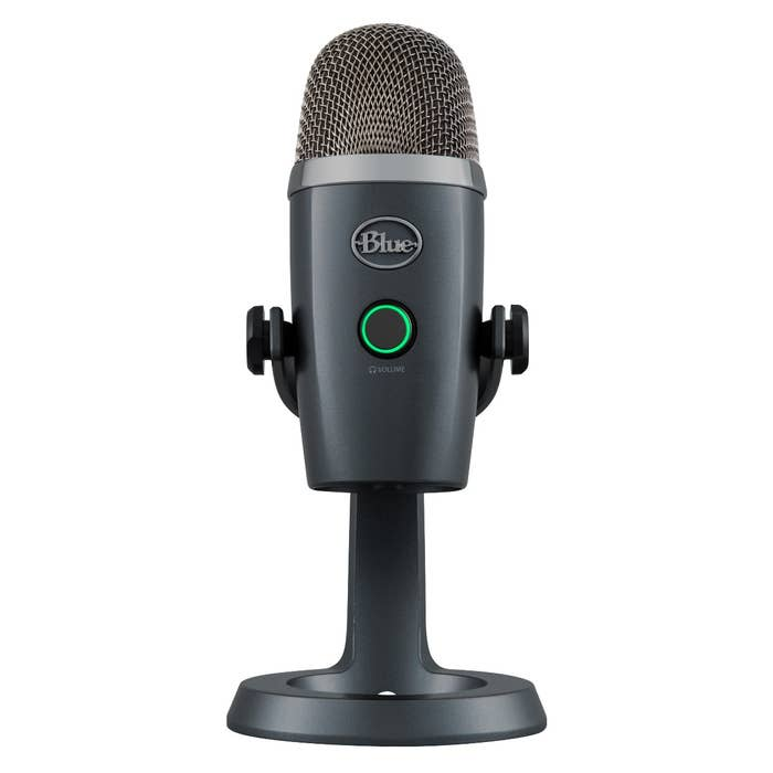 Blue Microphones Yeti Nano Premium USB Microphone (Shadow Grey)