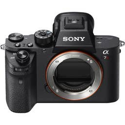 Sony a7R II Full-Frame Mirrorless Camera Body