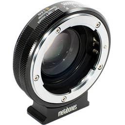 Metabones Nikon G to Micro FourThirds Speed Booster XL 0.64x (Black Matt)  MB-123