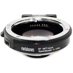 Metabones Canon EF to Micro FourThirds T Speed Booster XL 0.64x (Black Matt)  MB-122
