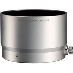 Olympus LH-61F Lens Hood for M.ZUIKO DIGITAL ED 75mm 1:1.8 Lens (Silver)