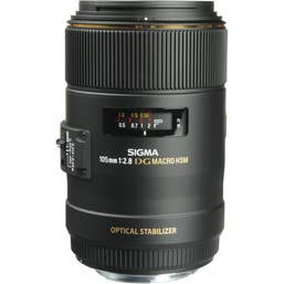 Sigma 105mm f/2.8 Macro EX DG OS HSM Lens for Canon