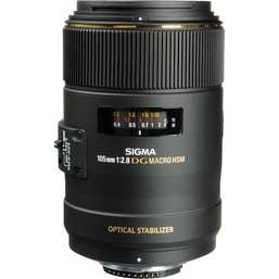Sigma 105mm f/2.8 Macro EX DG OS HSM Lens for Nikon