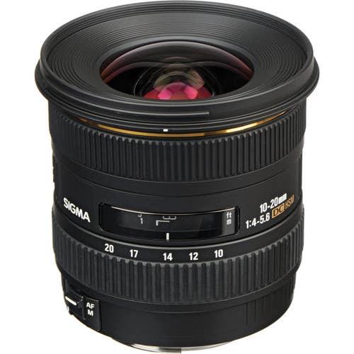 Sigma AF 10-20mm f4-5.6 EX DC HSM Lens - Canon Mount