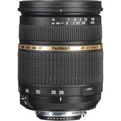 Tamron SP 28-75mm F2.8 XR Di LD Aspherical (IF) Lens - Nikon Mount  -  400120