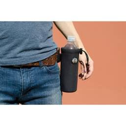 Spider Camera Holster Spider Monkey Water Bottle Holder (Black)