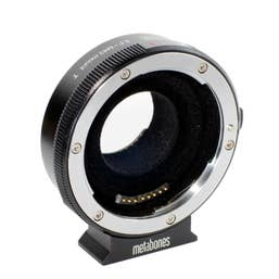Metabones Canon EF Lens to Micro Four Thirds T Smart Adapter  (MB-120)   MB_EF-m43-BT2