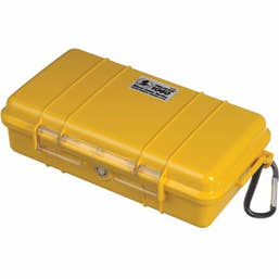 Pelican 1060 Micro Case - Yellow with Black Liner