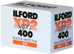 Ilford XP2S Black & White 135-36 exp C-41 Film