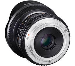 Samyang 12mm T3.1 VDSLR II - Pentax K Full Frame