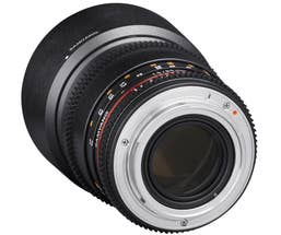 Samyang 85mm T1.5 VDSLR II - Pentax K Full Frame