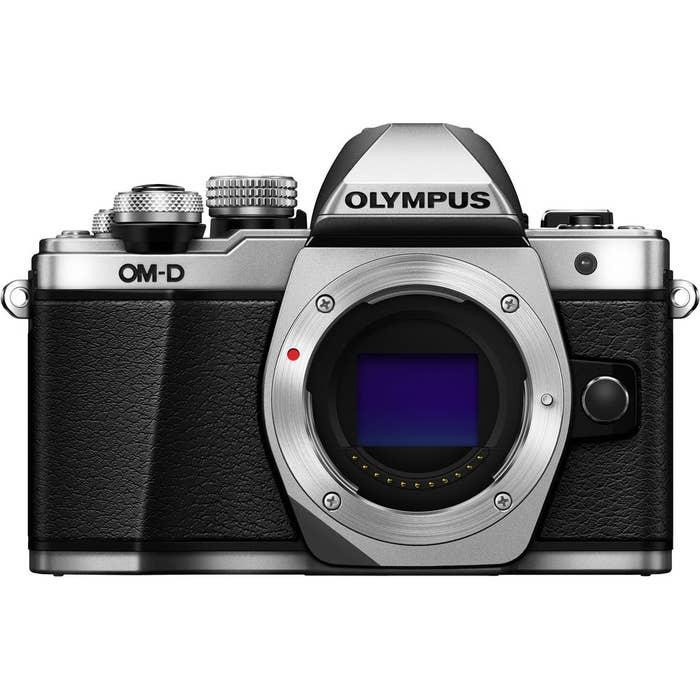 Olympus OM-D E-M10 Mark II Silver Body