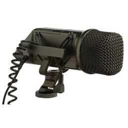 Rode Stereo VideoMic Camera-Mounted Stereo Microphone ( 1-RODSVM )