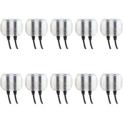 Rode invisiLav (10 pack) Discreet skinsafe mount for la valier microphones. Supports R