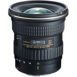 Tokina AT-X 11-20mm f/2.8 PRO DX Lens Nikon Mount  - 1120PRODXNIK