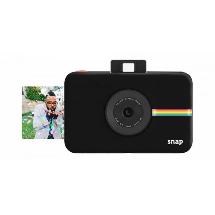 Polaroid Snap Instant Digital Camera - Black (POLSP01B)