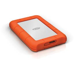 LaCie 2TB Rugged Mini USB 3.0 Portable Hard Drive