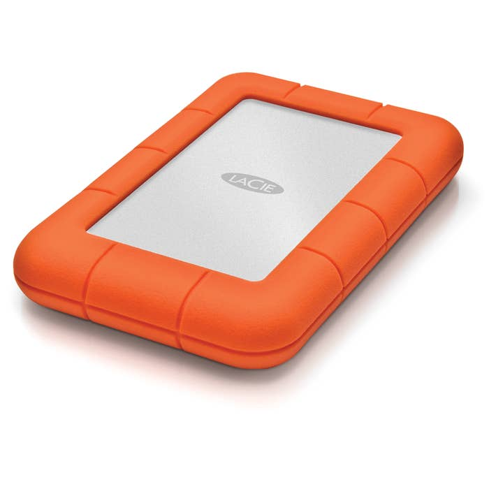 LaCie 2TB USB 3.0 Rugged Mini Portable Hard Drive