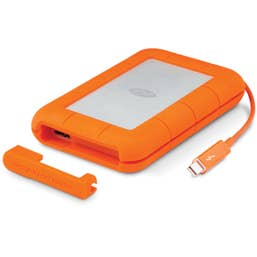 LaCie 1TB RUGGED THUNDERBOLT AND  USB3.0 PORTABLE DRIVE