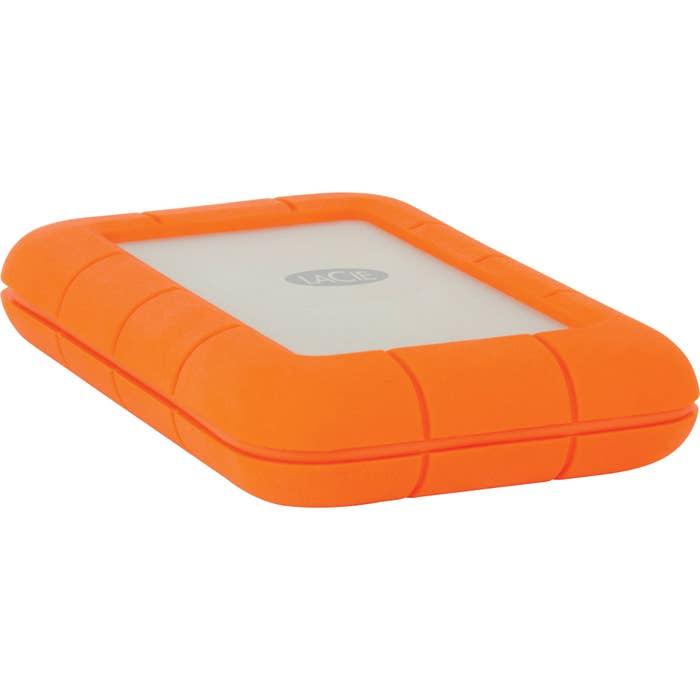 LaCie 1TB Rugged Thunderbolt USB3.0 Portable Drive