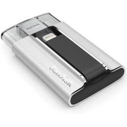 SANDISK iXPAND™ FLASH DRIVE 16GB FOR IPHONE AND IPAD