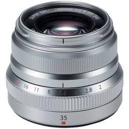Fujifilm Fujinon XF 35mm f/2 R WR Lens (Silver)