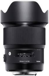 Sigma 20mm f/1.4 DG HSM Art Lens for Canon