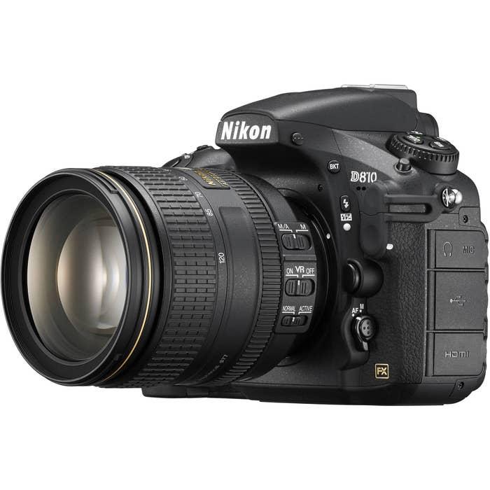 Nikon D810 DSLR Camera with 24-120mm F4 Lens