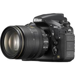 Nikon D810 DSLR Camera with 24-120mm F4 Lens