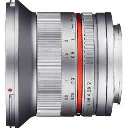 Samyang 12mm f/2.0 NCS CS Lens for Fujifilm X-Mount - Silver