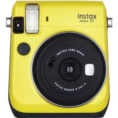 Fujifilm instax mini 70 Instant Film Camera (Canary Yellow)