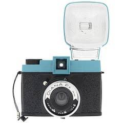 Lomography Diana F+ Camera w/ Diana F+ Flash - Teal/Black
