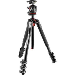 Manfrotto 190 Aluminum 4 Sec Tripod with XPRO Ball Head + 200PL Plate  (MK190XPRO4-BHQ2)