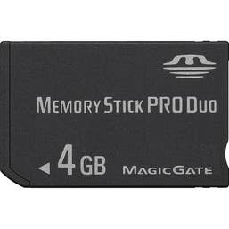 Glanz Memory Stick Pro Duo 4GB