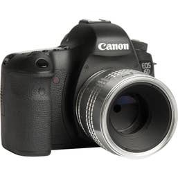 Lensbaby Velvet 56mm SE Canon EF (Silver)
