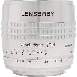 Lensbaby Velvet 56mm SE Nikon F (Silver)
