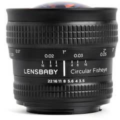 Lensbaby Velvet 56mm f/1.6 Lens for Canon EF (Black)