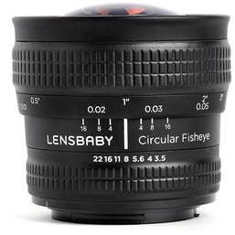 Lensbaby Circular Fisheye Pentax K