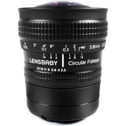 Lensbaby Circular Fisheye Micro Four Thirds