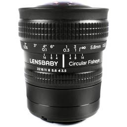 Lensbaby Circular Fisheye Samsung NX